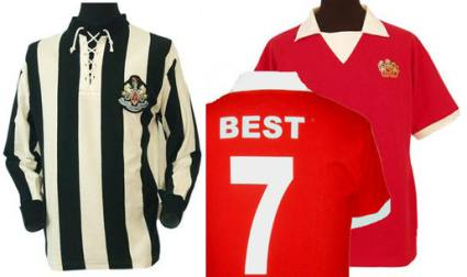best sneakers a6833 2cf6f Retro Football Shirts