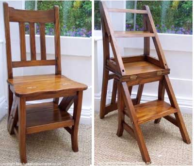 Kitchen Chair That Becomes A Stepladder